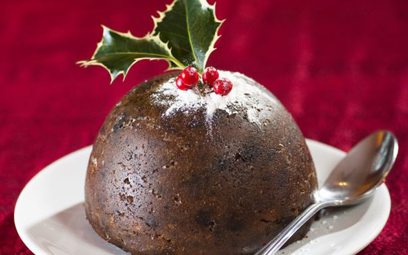 Christmas pudding for pets